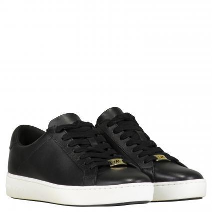 Sneaker aus Leder schwarz (001 BLACK) | 9,5