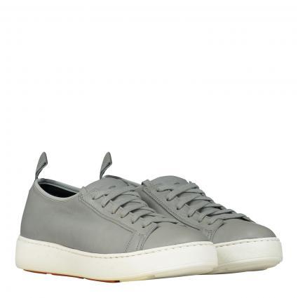 Sneaker aus Glattleder grau (GREY)   38,5