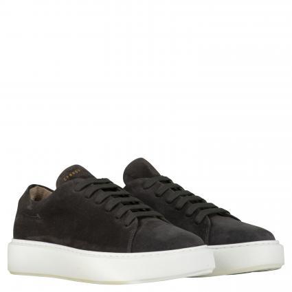 Sneaker aus Leder anthrazit (CROSTA GRAPHITE) | 45