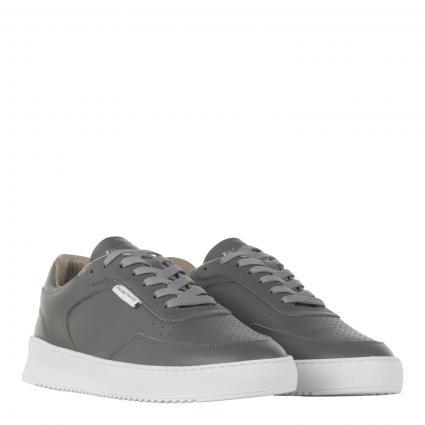 Sneaker aus Leder grau (Grey) | 41