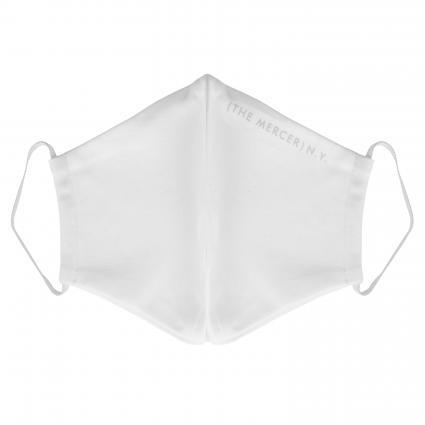 Maske mit Gummiband weiss (WHITE)   0
