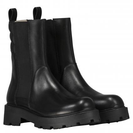 Boots 'Cosmo' aus Leder schwarz (20 BLACK) | 37