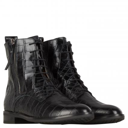 Boots aus Leder schwarz (SCHWARZ ALIGATE) | 4