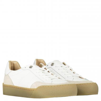 Sneaker 'Selen' aus Leder weiss (089 WHITE) | 40