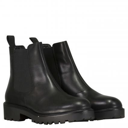 Boots 'Kenova' aus Leder schwarz (20 BLACK)   39