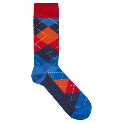 Socken mit Rautenmuster divers (6500 argyle sock) | 36-40