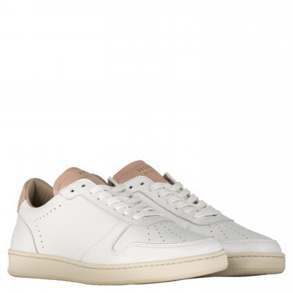 Sneaker aus Leder weiss (WHITE/ - BLUSH) | 41
