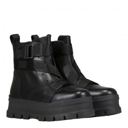 Boots 'Sid' mit robuster Sohle schwarz (BLACK) | 9