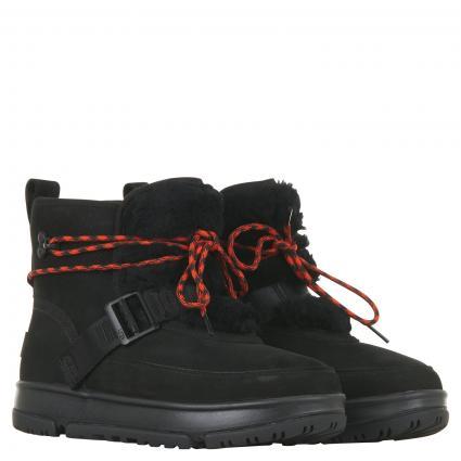 Hiking Boots mit Schnürung schwarz (BLACK)   7