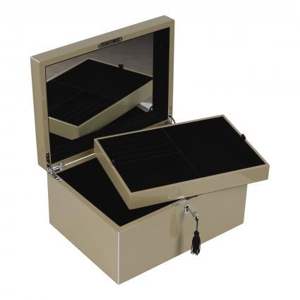 Schmuckbox Größe L beige (SANDSTONE) | 0