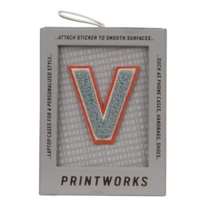 Buchstaben Patch divers (FLUFFY V)   0