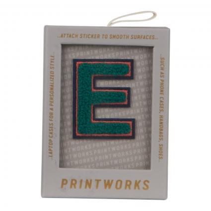 Buchstaben Patch divers (FLUFFY E)   0