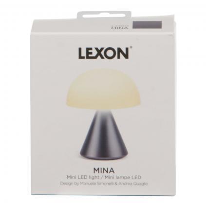 Mini 'MINA' Lampe silber (GUN METAL) | 0