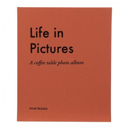 Fotoalbum 'Life in Pictures' grau (GREY) | 0