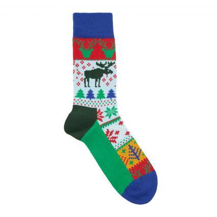 Socken 'Fair Isle' divers (7000 fair isle sock) | 36-40