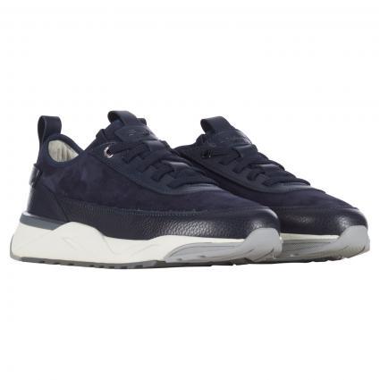 Sneaker aus Leder  marine (U75 blue) | 8