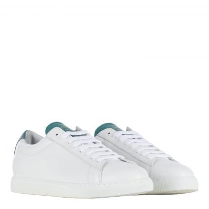 Sneaker aus Leder grün (CYPRES) | 38