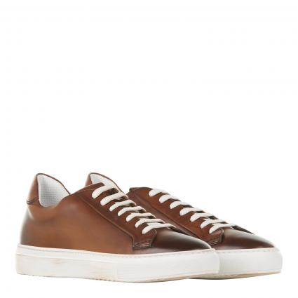 Sneaker aus Leder cognac (UM07 cognac)   41