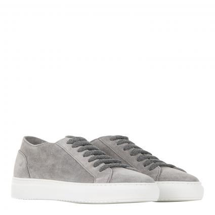 Sneaker aus Veloursleder grau (IN22 grau) | 44