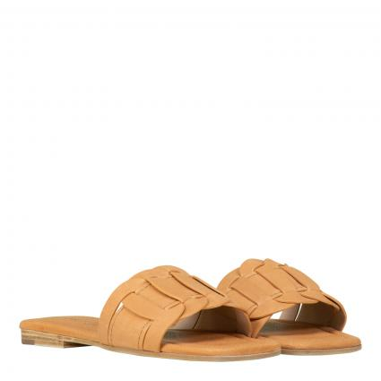 Sandale 'Rio' aus Leder beige (234 TEXAS CALF CARAM) | 40