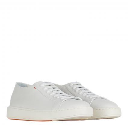 Sneaker aus Leder weiss (I48 white )   7,5