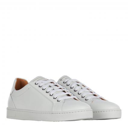 Sneaker aus Leder weiss (blanco) | 42,5