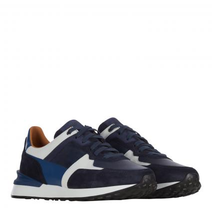 Sneaker aus Leder marine (azul blanco ) | 41