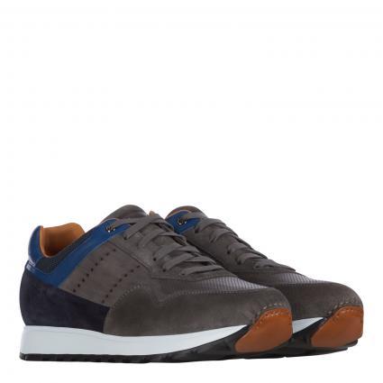 Sneaker aus Leder grau (gris azul) | 40