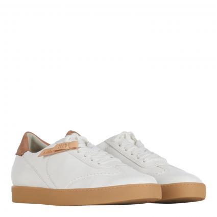 Sneaker aus Leder-Mix cognac (038 N.NAPPA/N.NUB OF)   40
