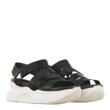 Sandaletten mit Plateausohle  schwarz (BLACK) | 6