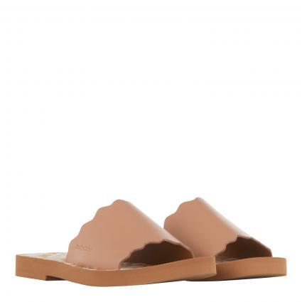 Sandalen 'Essi' mit breitem Lederriemen rose (348 LIGHT ROSE)   41