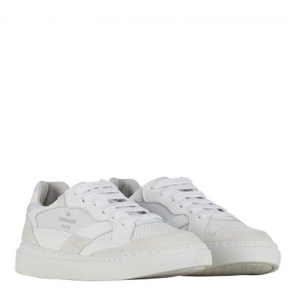 Sneaker aus Leder weiss (WHITE) | 38