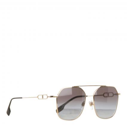 Sonnenbrille mit Metallrahmen divers (11098G) | 0