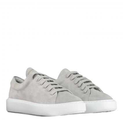Sneaker aus Leder grau (CROSTA LIGHT GREY) | 42