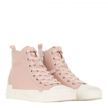 Sneaker aus Leder rose (NAPPA WAX S PINKSALT) | 39