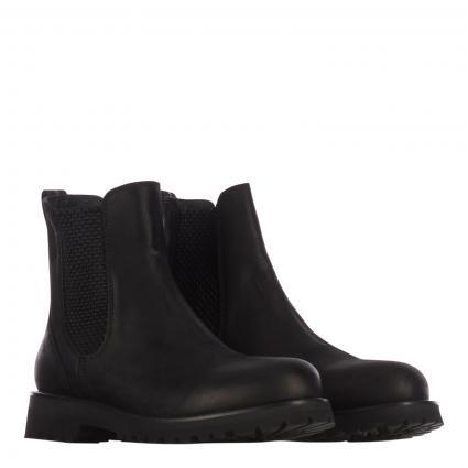 Stiefel aus Leder  schwarz (nero) | 41