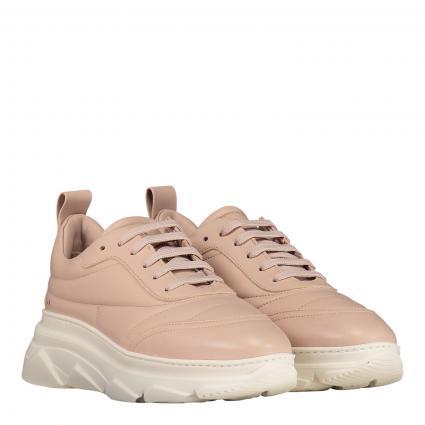 Sneaker aus Leder rose (NAPPA NUDE) | 37