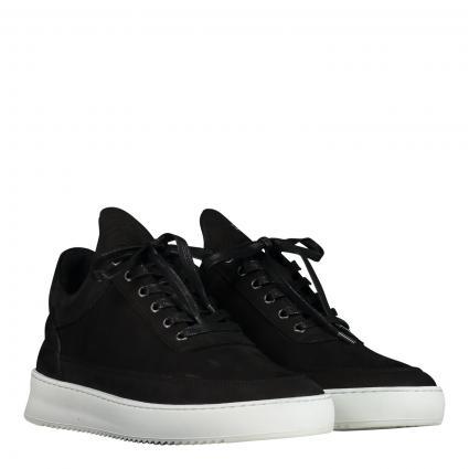 Sneaker 'Nappa' aus Leder  schwarz (1863 black/white ) | 41