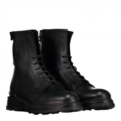 Stiefelette aus Leder schwarz (NERO) | 37,5