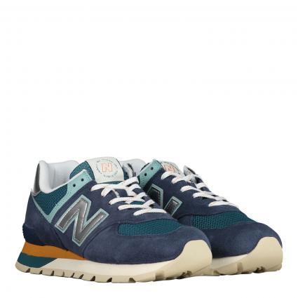 Sneaker aus Material-Mix marine (410 navy ) | 10