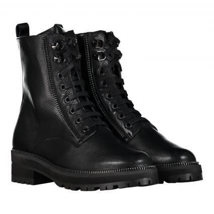 Boots aus Leder schwarz (1 ANDRE BLACK) | 36