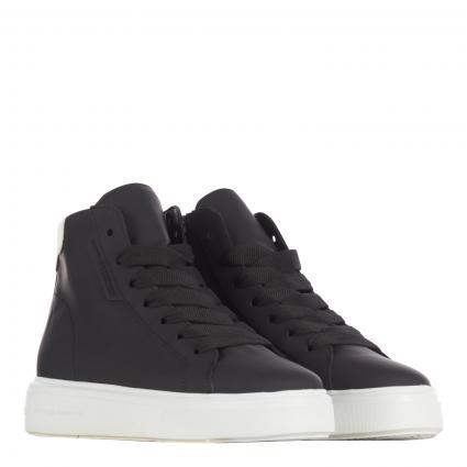 Hightop-Sneaker 'Pro' aus Leder schwarz (600 RUBBER CALF BLAC)   4