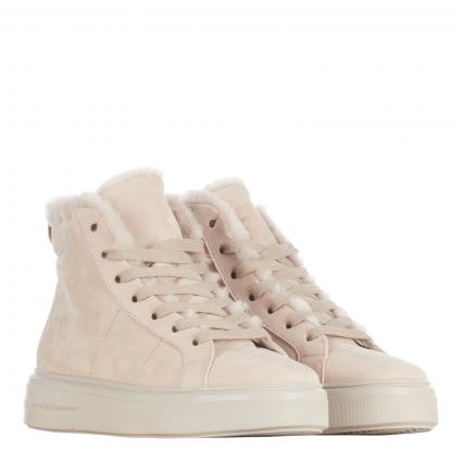 Sneaker aus Leder beige (654 SOFT NUBUK DESER) | 6