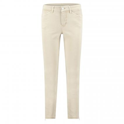 Regular-Fit Jeans 'Dream Chic' mit Reißverschlussdetail beige (214W smoothly beige) | 36 | 27