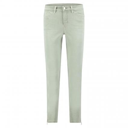 Regular-Fit Jeans 'Dream Chic' mit Reißverschlussdetail grün (343W dried rosemary) | 44 | 27