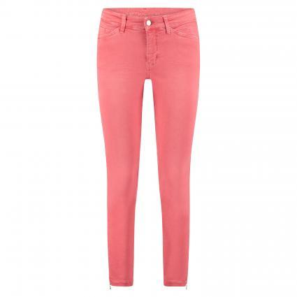 Regular-Fit Jeans 'Dream Chic' mit Reißverschlussdetail rot (446W red diamond)   36   27