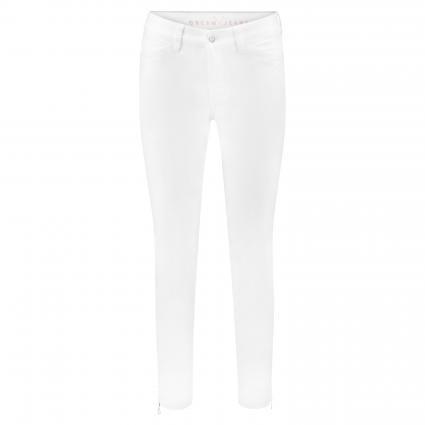 Jeans 'Dream Chic' weiss (D010 white denim) | 34 | 27