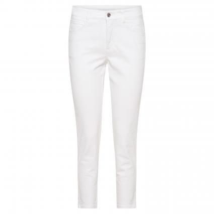Regular-Fit Jeans 'Angela' weiss (D010 white denim) | 46 | 26