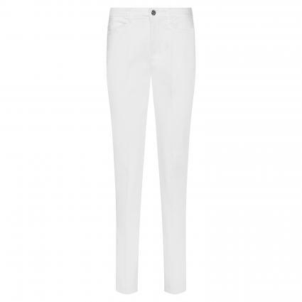 Straight-Leg Chino 'Cara' weiss (010 white) | 34 | 30