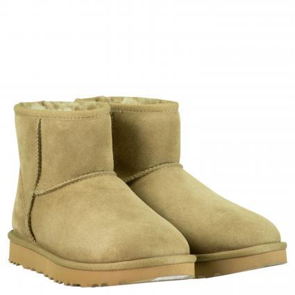 Gefütterte Boots 'Classic Mini' braun (ALP) | 37